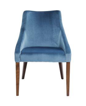Chair Mode Velvet Bluegreen