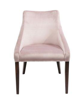 Chair Mode Velvet Mauve