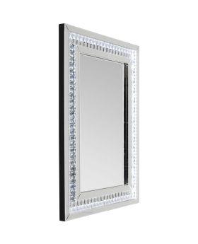 Mirror Crystals LED 80x60cm
