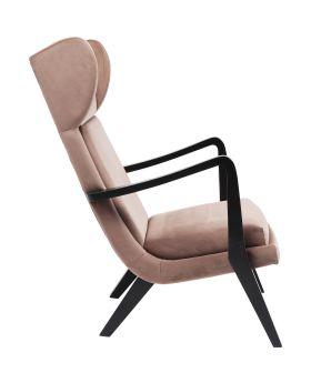 Relax Chair Silence Velvet Mauve