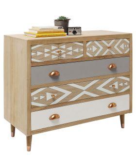 Dresser Oase 5Drw 90cm