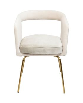 Cocktail Chair Rimini Powder-Grey