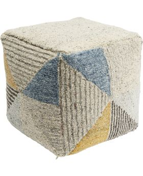 Pouf Triangle Stripes 45x45cm