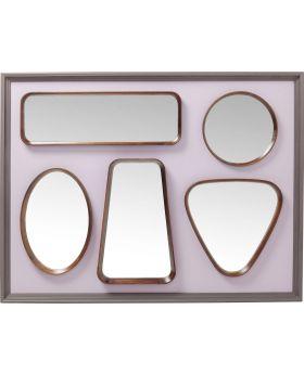 Mirror Art Shapes 170x130cm