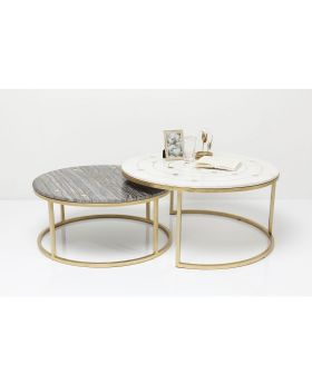 Side Table Mystic Round (2/Set)