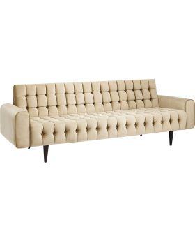 Sofa Milchbar Velvet Goldy 3-Seater
