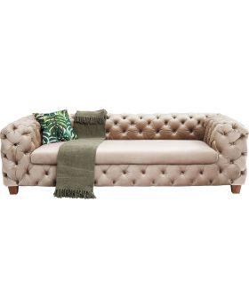 Sofa Desire Velvet Ecru 3-seater