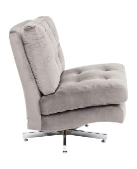 Swivel Chair Cinema Grey