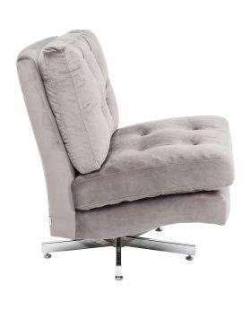 Swivel Chair Cinema Grey