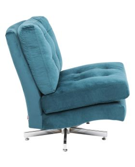 Swivel Chair Cinema Turquise