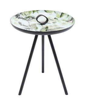 Side Table Jungle Birds 39cm