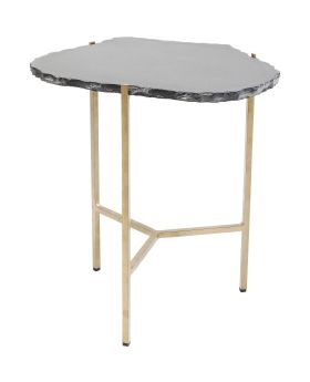 Side Table Piedra Black 50x45cm