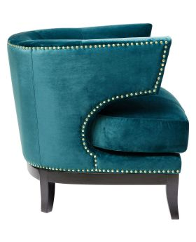 Arm Chair Art Deco Green