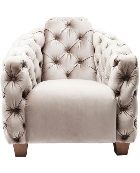 Armchair Desire Lounge Grey
