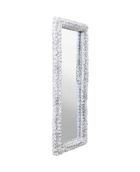 Mirror Rose Rectangular White 180x80cm