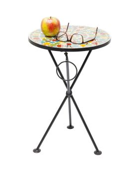 Side Table Clack Mosaic Colore 36cm