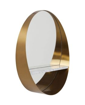 Mirror Hipster Shelf  65cm