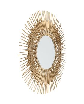Mirror Icario Gold 90cm