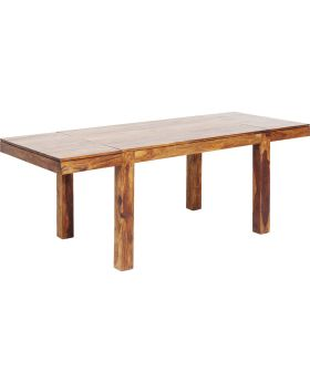 Table Momo with 2 Extension Tops 120(40+40)x80cm