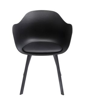 Dining Chair With Armrest Brentwoodblack