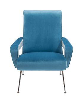 Arm Chair Luna High Light Blue