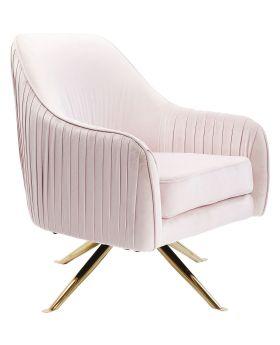 Swivel Chair Zuzi Powder