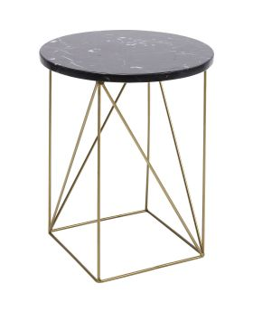Side Table Key Largo Black 35cm