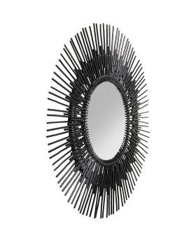 Mirror Icario Black 90cm