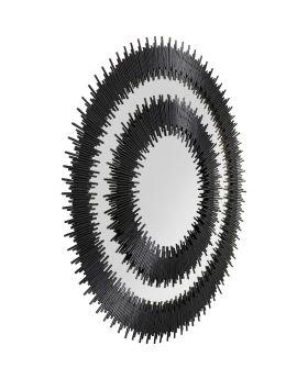 Mirror Icario Duo Black  132cm