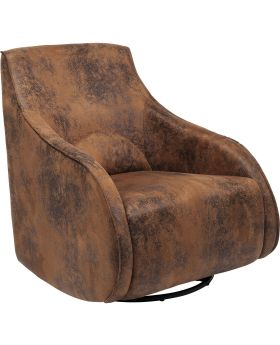 Twisting Armchair Ritmo Move Vintage Eco