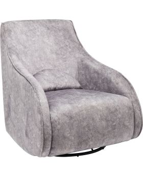 Twisting Armchair Ritmo Move Vintage Grey