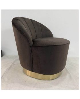 Arm Chair Cherry Brown