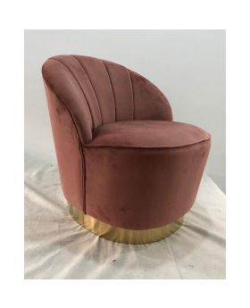 Arm Chair Cherry Mauve