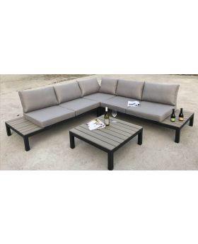 Outdoor Sofa Set Holiday Black (4-Pieces)