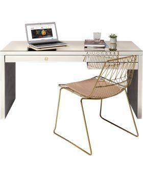 Desk Luxury Champagne Glass140X60Cm