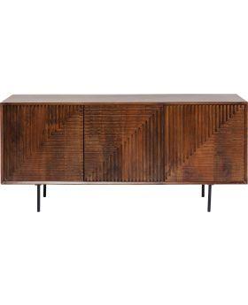 Sideboard Grooves Mango Wood
