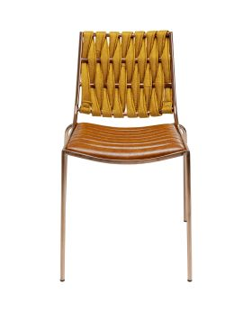 Two Face Dining Chair Light Brown