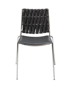 Two Face Dining Chair Grey