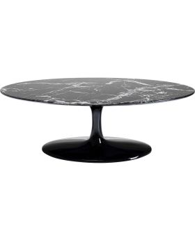 Coffee Table Solo Marble Black 120Cm