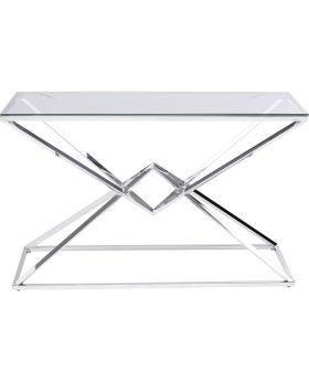 Console Diamond Connection 120Cm,Silvery