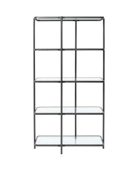 Shelf Modern Art 200Cm,Black