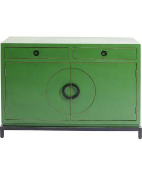Sideboard Disk Green 2 Doors