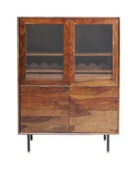 Display Cabinet Ravello 100Cm,Nature