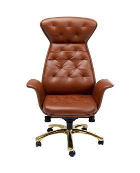 Office Chair Brady Brass