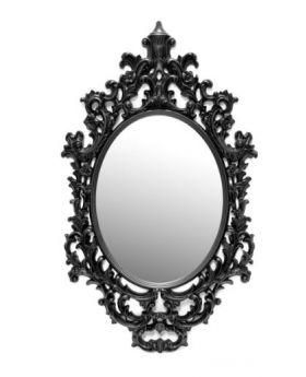 MIRROR CAMEO H144X85,BLACK