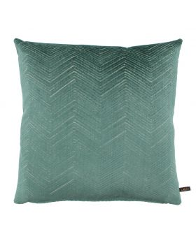 CUSHION MERLE 45X45 CM DARK MINT