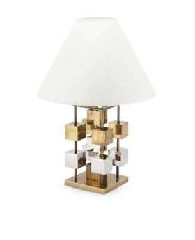 TABLE LAMP DOB GLAM H59 D33WHITE