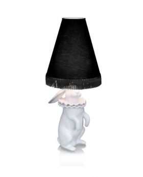 TABLELAMP RABBIT H76,BLACK
