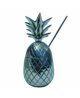 PINEAPPLE WITH STRAW NICKLE 21H