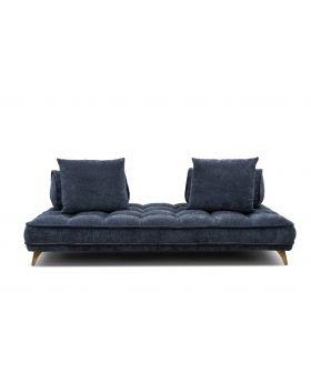 Belavio Relax Daybed,Dark Blue-Grey,Fab